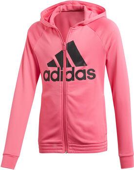 adidas YG HOOD PES TS Mädchen pink