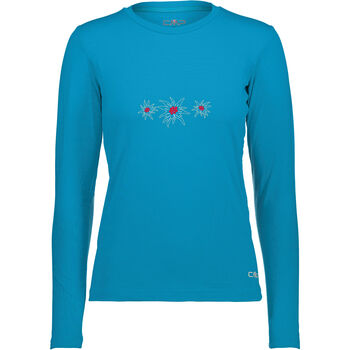 CMP Bergamo Langarmshirt Damen blau