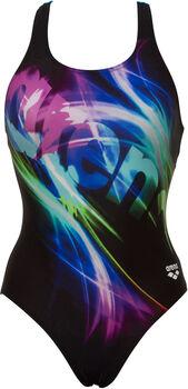 Arena Colourshadings Swim Pro Back Badeanzug Damen schwarz