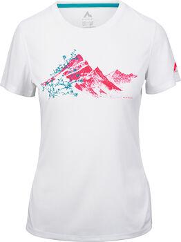 McKINLEY Rossa T-Shirt  Damen weiß