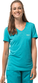 Jack Wolfskin Crosstrail T-Shirt Damen blau