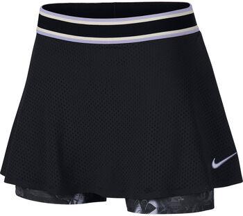 Nike W Nkct Skirt Ess Pr Tennisrock Damen schwarz