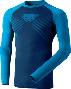 DYNAFIT Speed Dryarn Langarmshirt Herren blau