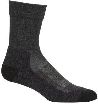 Icebreaker Hike+Light Crew Socken schwarz