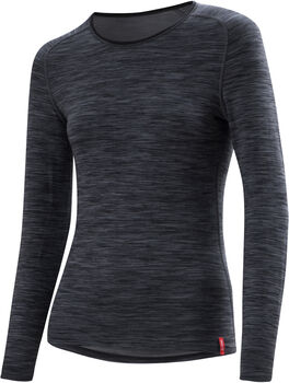 LÖFFLER Transtex® WARM Langarmshirt Damen grau