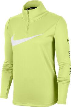 Nike Langarmshirt mit Halfzip Damen grün