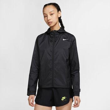 Nike Essential Laufjacke Damen schwarz