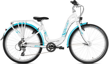 "PUKY Skyride 24-8 Alu Light Fahrrad 24"" weiß"