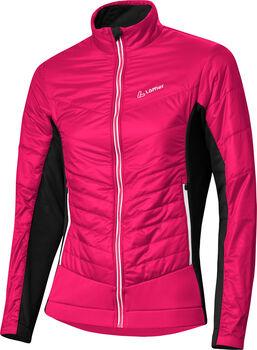 LÖFFLER Pace Hybrid Jacke Damen pink