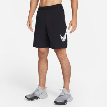 Nike Flex Camo Shorts Herren schwarz