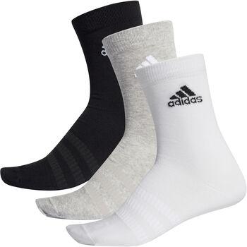 adidas Light Crew 3er Pack Socken Herren grau