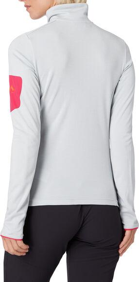 Tampo Fleece Langarmshirt mit Halfzip