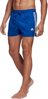 adidas 3-Streifen CLX Badeshorts Herren blau