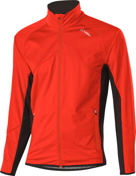LÖFFLER Alpha WS Light Softshelljacke Herren orange