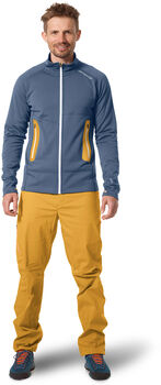 ORTOVOX Fleece Light Jacket Herren blau