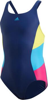 ADIDAS Colorblock Badeanzug Mädchen blau