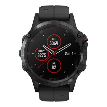 Garmin Fenix 5 Plus Multisport GPS Smartwatch schwarz