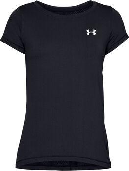 Under Armour HeatGear® Armour T-Shirt Damen schwarz