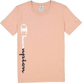 Champion Crewneck T-Shirt Damen braun