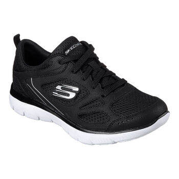 Skechers Summits Suited Fitnessschuhe Damen schwarz