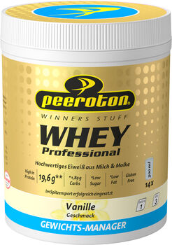 Peeroton Vanille Whey Protein Shake  gelb