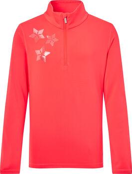 McKINLEY Dariana Langarmshirt mit Halfzip pink