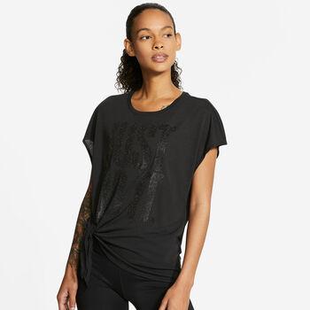 Nike  W Nk Dry Ss Top TiePp1 Sprkle Damen Top