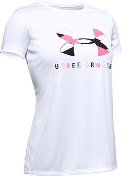 Under Armour UA Tech™ T-Shirt Mädchen cremefarben
