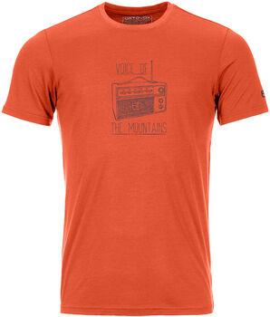 ORTOVOX 150 Cool Radio T-Shirt Herren orange