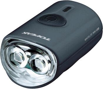 Topeak White Lite Mini USB Frontscheinwerfer schwarz