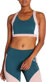 ASICS Color Block Bra 2 Sport-BH Damen blau