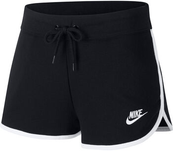 Nike W Nsw Hrtg Short Flc Short Damen schwarz