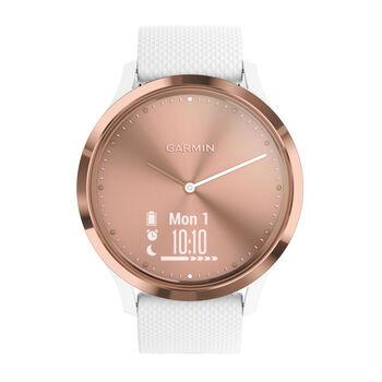 Garmin vivomove HR Sport Hybrid-Smartwatch pink
