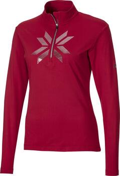 McKINLEY Daria II Langarmshirt mit Half Zip Damen rot