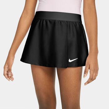 Nike Dri-Fit Victory Flouncy Tennisrock Mädchen schwarz