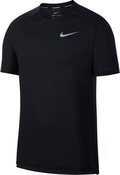 Nike  Dry Cool Miler Laufshirt Herren schwarz