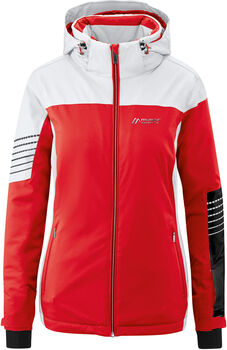 Maier Sports Caldonazzo Skijacke Damen rot