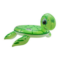 Aufblastier Schildkröte