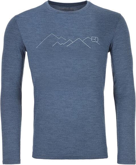 185 Merino Mountain Langarmshirt