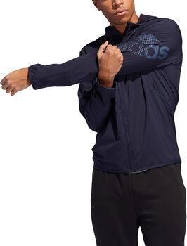 adidas Logo Hoodie Herren blau