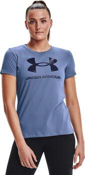Under Armour Sportstyle Graphic T-Shirt Damen blau
