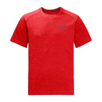 Jack Wolfskin Hydropore XT T-Shirt Herren rot