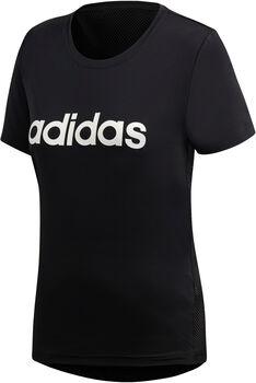 ADIDAS Design 2 Move Logo T-Shirt Damen schwarz