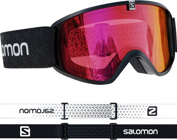 Salomon Force Photochromic Skibrille schwarz