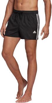adidas 3-Streifen CLX Badeshorts Herren schwarz