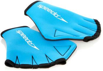 speedo Aqua Gloves blau