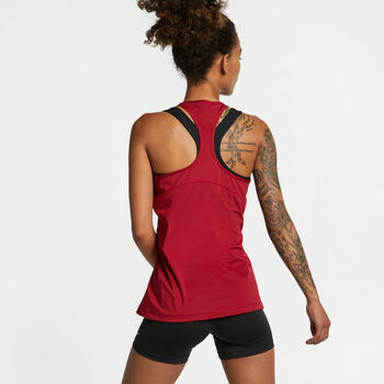 Nike Pro All Over Tanktop Damen rot