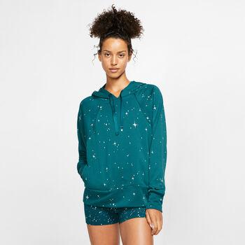 Nike Dri-FIT Get-Fit Fleece Hoodie Damen grün