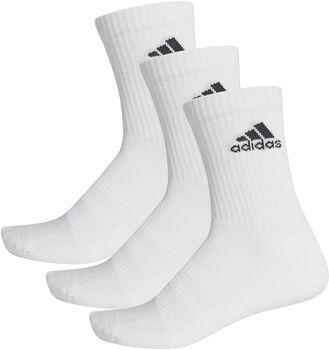 ADIDAS Cushioned Crew Socken 3er Pack weiß