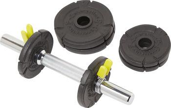 ENERGETICS  10 kg Kurzhantelset, 4x1 kg, 2x2 kg schwarz